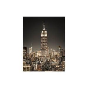 Obraz Empire State Building at Night, 50x65 cm