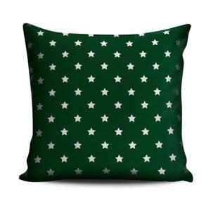 Vankúš Homedebleu Green Dots Darko, 45 x 45 cm