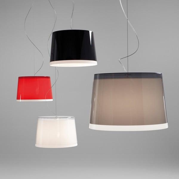 Transparentné závesné svetlo Pedrali L001S/BB