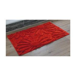 Kúpeľňová predložka Blume Red, 60x100 cm