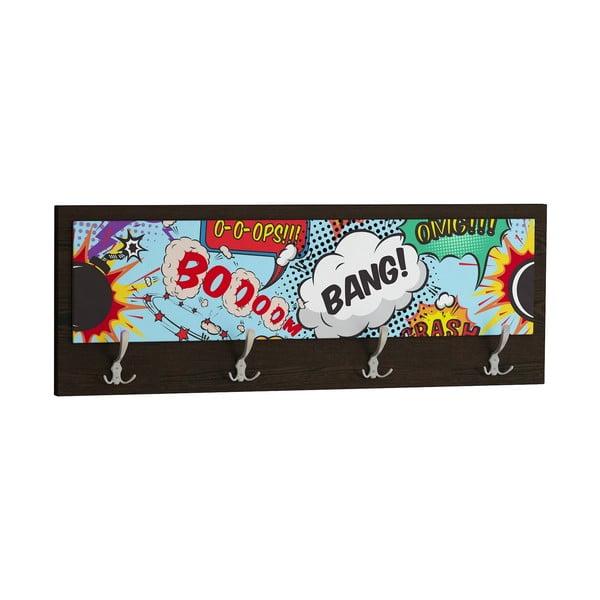 Vešiak Boom Bang, čierny