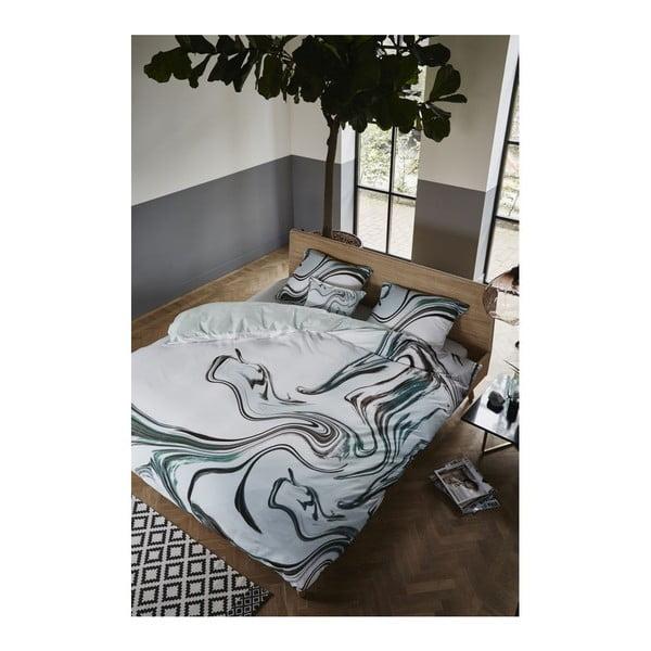 Obliečky Essenza Fedde, 200x200 cm, zelené