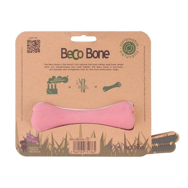 Žuvacia kosť pre psov Bone Small, ružová