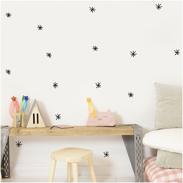 Dekoratívnasamolepka na stenu Stars 4
