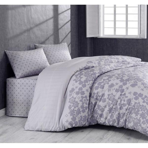Obliečky Grey Mood s plachtou, 160x220 cm