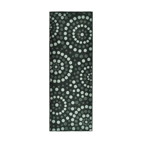 Rohožka Dots Grey, 67x180 cm