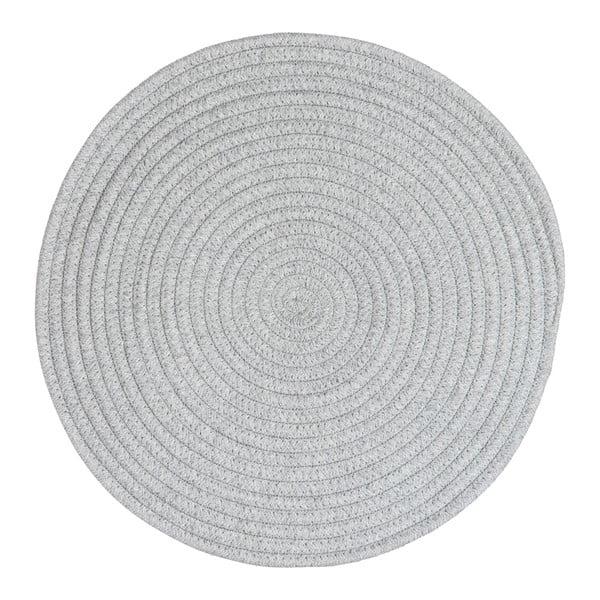 Prestieranie Round Grey Cotton, 38 cm