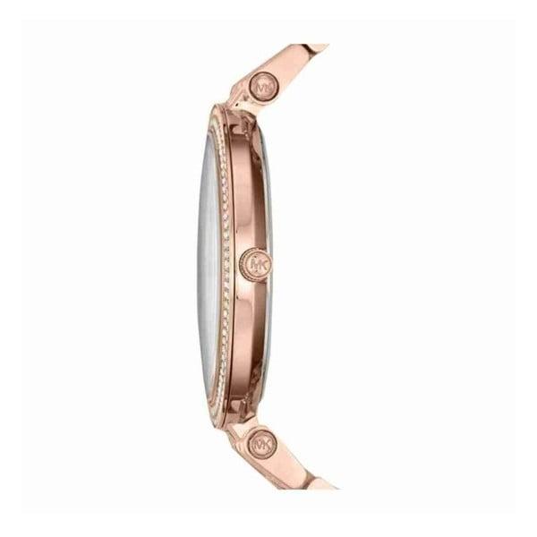 Dámske hodinky vo farbe ružového zlata Michael Kors Darci