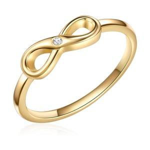 Pozlátený prsteň s pravým diamantom Tess Diamonds Emmy, veľ. 56