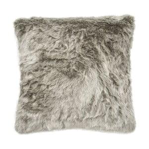 Vankúš Faux Fur Silver, 45x45 cm