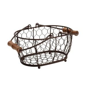 Kovový košík T&GWoodware Provence, 20x14cm