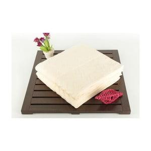 Sada 2 osušiek Kalp Cream, 50x90 cm
