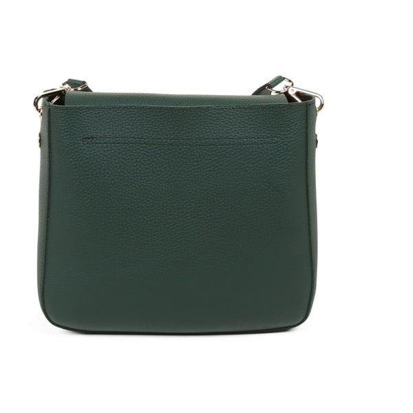 Zelená kabelka z eko kože Beverly Hills Polo Club Georgina
