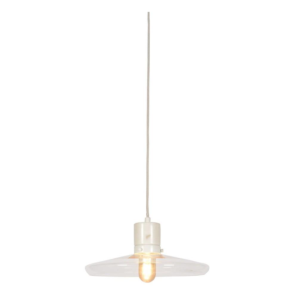 Biele závesné svietidlo Citylights Paris, ⌀ 32 cm