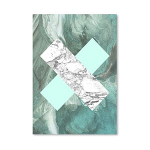 Plagát Geometric Marble X