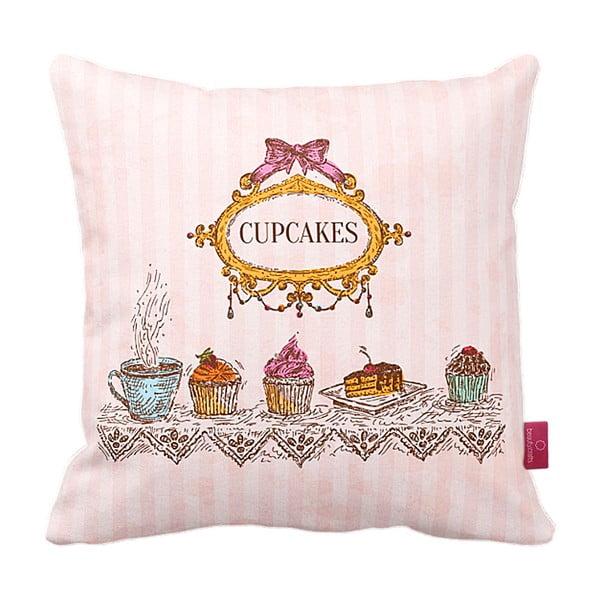 Vankúš Royal Cupcakes, 43x43 cm