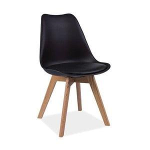 Čierna stolička Vivir Guay
