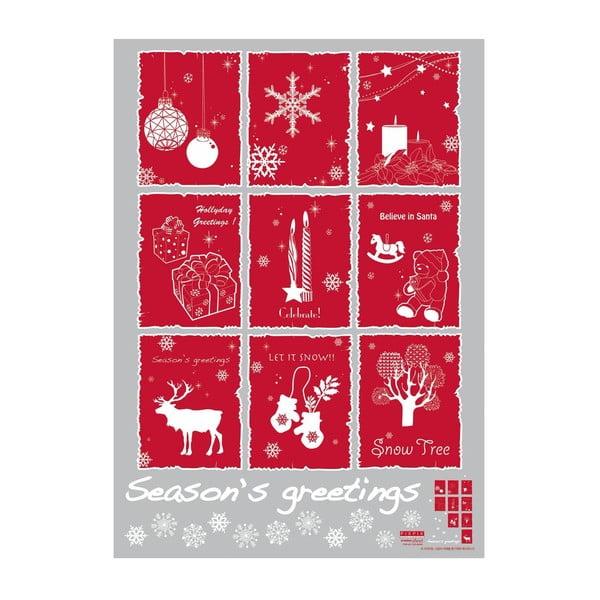 Samolepka Christmas Stamps