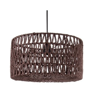 Hnedé stropné závesné svietidlo Leitmotiv Rope