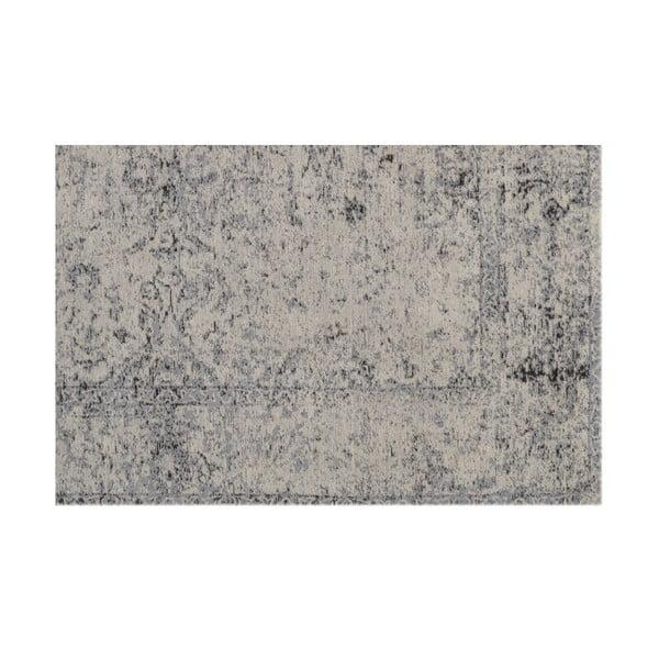 Vlnený koberec Canada, 160x230 cm, sivý