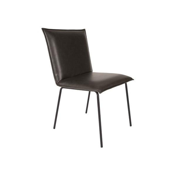 Stolička Floke, čierna
