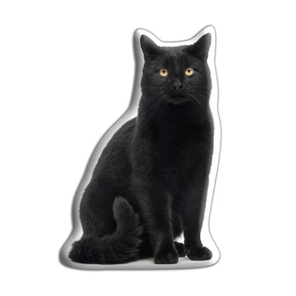 Vankúšik Adorable Cushions Čierna mačka