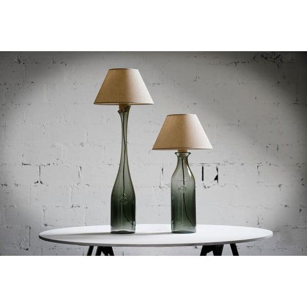 Stolová lampa Glass 50 cm, dymová modrá