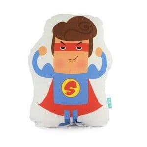 Detský bavlnený vankúšik Baleno Super Hero, 40 x 30 cm