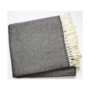 Deka Zen Plaid Dark Grey, 140x180 cm