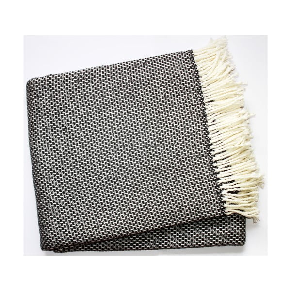 Deka Zen Plaid Dark Grey, 140x180 cm