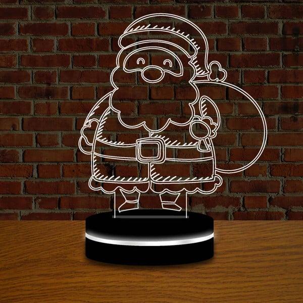 Lampa s 3D efektom Christmas no. 5