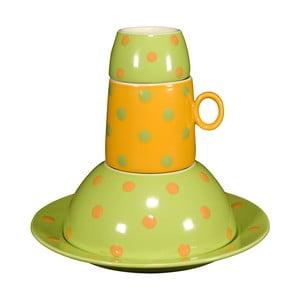 Detská porcelánové sada Ramponi Baby Green