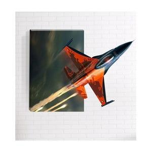 Nástenný 3D obraz Mosticx Raketa, 40 x 60 cm