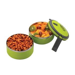 Zelená okrúhla miska na obed Pioneer Lunchbox