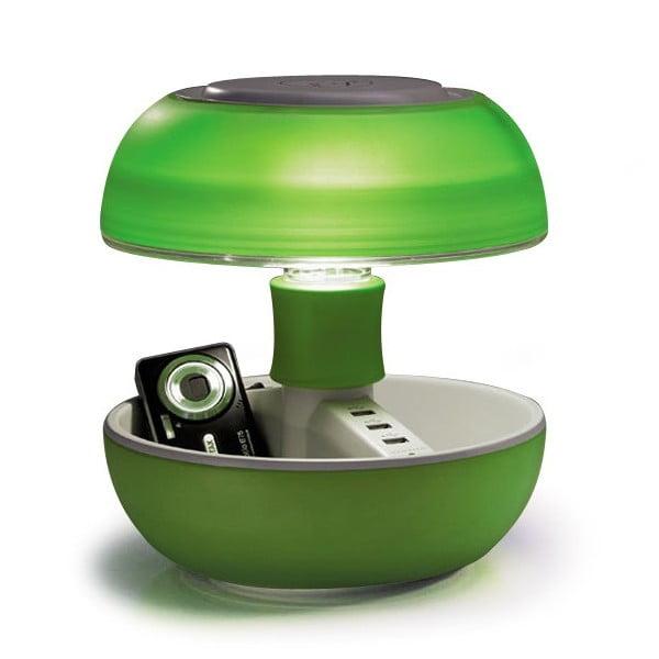 Stolná lampa a nabíjačka v jednom Joyo Light, zelená