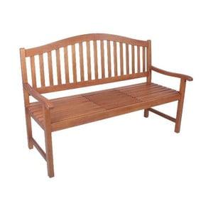 Záhradná lavica s odkladacím stolíkom z eukalyptového dreva ADDU Phuket