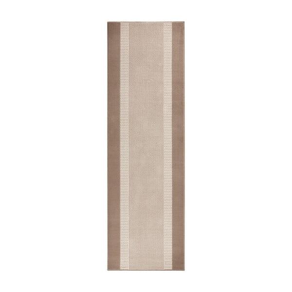 Koberec Basic, 80x200 cm, béžový