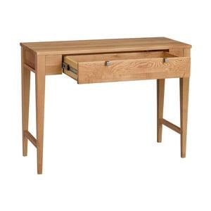Prírodný dubový konzolový stolík Folke Fulla
