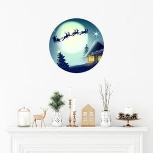 Vianočná samolepka Ambiance Santa Claus