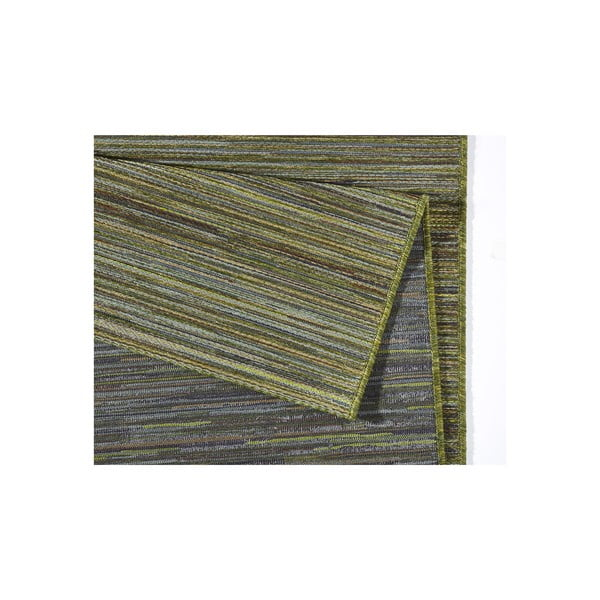 Koberec vhodný do exteriéru Lotus 200x290 cm, zelený melír