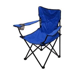 Modrá skladacia kempingová stolička Cattara Bari