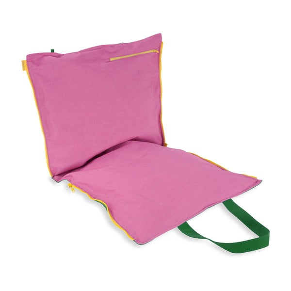 Skladací sedák Hhooboz 100x50 cm, zelený