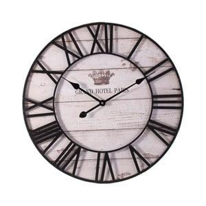 Nástenné hodiny z dreva Last Deco Ghana, ø 60 cm