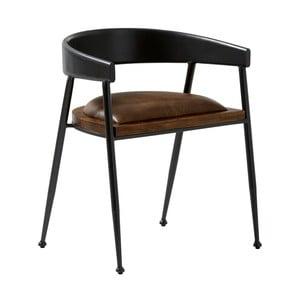 Kožená jedálenská stolička Fuhrhome Sydney Patina