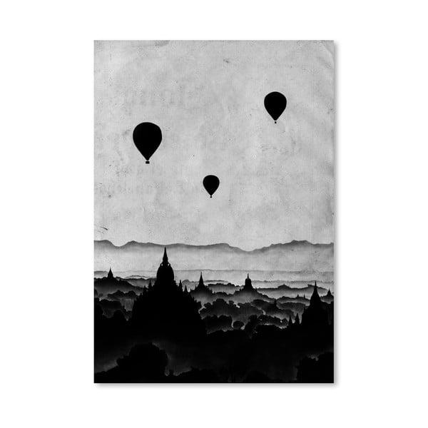 Plagát Aurora od Florenta Bodart, 30x42 cm