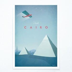 Plagát Travelposter Cairo, A3