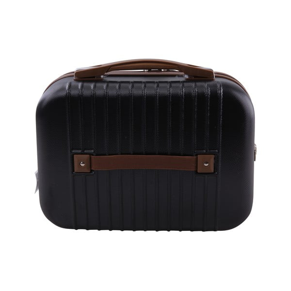 Kufor s príručnou taškou Vanity Jean Louis Scherrer Black