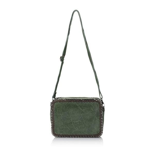 Kožená kabelka Markese 113 Green