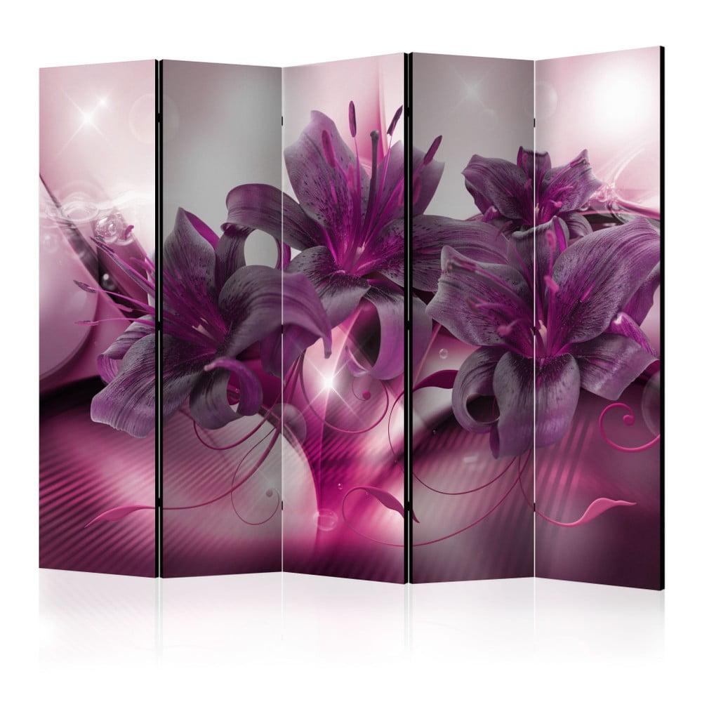 Paraván Artgeist Sweet Lily, 225 × 172 cm