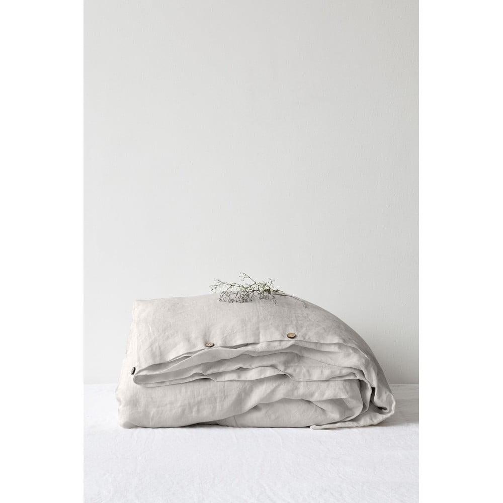 Prírodná ľanová obliečka na perinu Linen Tales, 200 x 200 cm